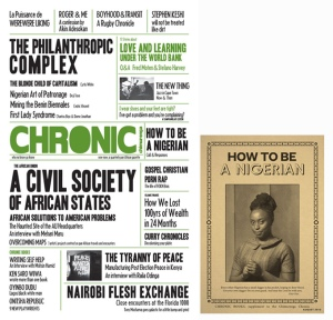 Cover of the new Chimurenga Chronic
